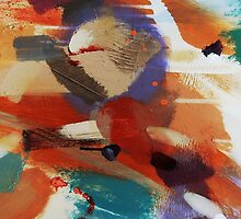 Textural Studies, Trinity, painting-print by Jenny Meehan  by jenny meehan