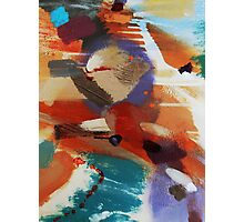 Textural Studies, Trinity, painting-print by Jenny Meehan  Photographic Print