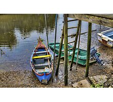 Boats in Tagus Affluent Photographic Print