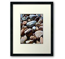 Outback Pebbles Framed Print