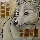Arctic Wolf by Lynnette Shelley