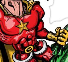 Super Santa Claus Sticker