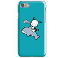 Dog and dolphins iPhone Case/Skin