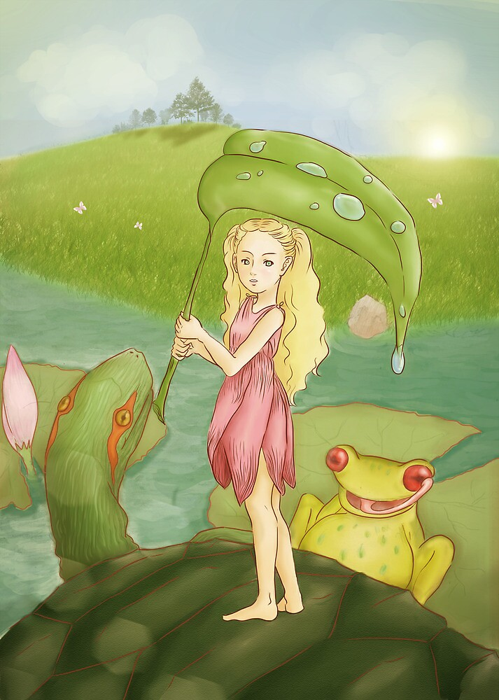 Thumbelina by m1m13