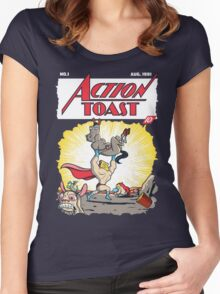 Action Toast Women's Fitted Scoop T-Shirt