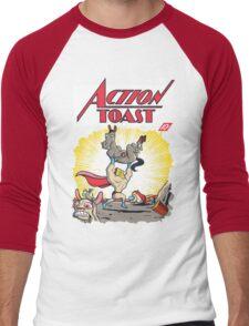 Action Toast Men's Baseball ¾ T-Shirt