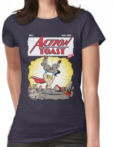 Action Toast Womens Fitted T-Shirt