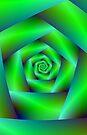 Green Spiral by Objowl