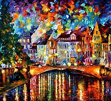 SKY OF AMSTERDAM - LEONID AFREMOV by Leonid  Afremov