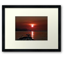 Goodnight Framed Print