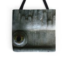 Silence needed a mouth to scream ... Tote Bag