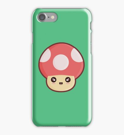 Kawaii Mushroom iPhone Case/Skin