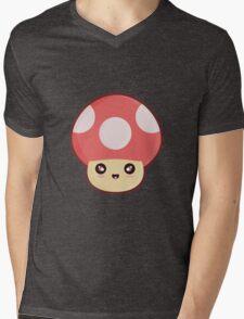Kawaii Mushroom Mens V-Neck T-Shirt