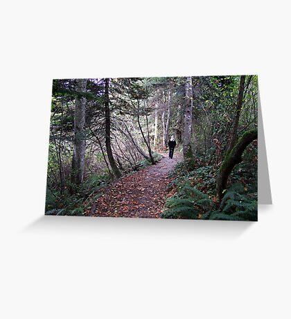 Woodland Trail Greeting Card