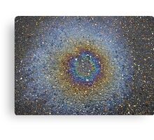 oil drop nebula Canvas Print