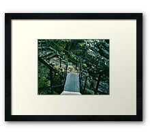 We Passed Upon The Stair Framed Print