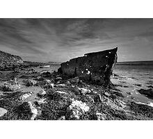 Dead Boat Photographic Print