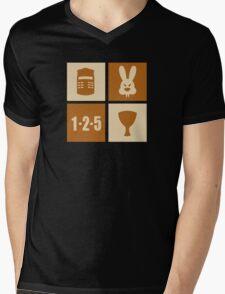 ICONIC GRAIL Mens V-Neck T-Shirt
