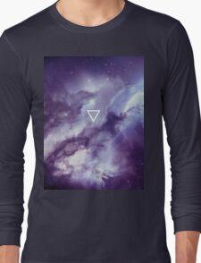 Geometric // Galaxy Long Sleeve T-Shirt