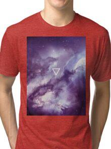 Geometric // Galaxy Tri-blend T-Shirt