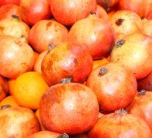 Pomegranates Jerusalem Sticker