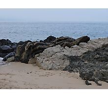 Volcanic zone -  Bay of Banderas Photographic Print