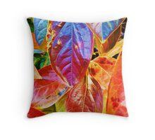 Autumn Saturation I Throw Pillow