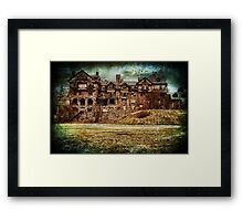 Abandoned Ruin of a College ~ New York, USA Framed Print