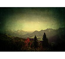 Limitless ~ Austria, Europe Photographic Print