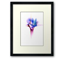 Cross - Veins - Wattlework Framed Print