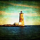 Afternoon at the Whaleback Lighthouse ~ New Hampshire, USA by Sabine Jacobs
