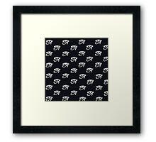 Eye Of Horus Pattern Framed Print