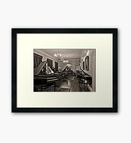 Museum Of Music (HDR Fractalised) =D Framed Print