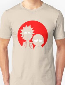 Rick and Morty Silhouette T-Shirt