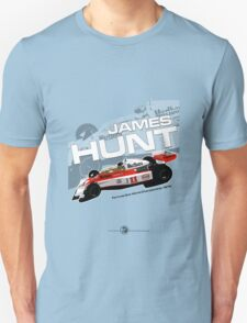 James Hunt - F1 1976 Unisex T-Shirt