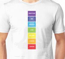 Chakra System Unisex T-Shirt
