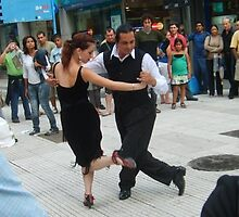 iT TAKES TWO TO TANGO -DANCING IN THE STREETS OF ARGENTINA by Arco Iris  R