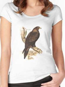 Wedge-Tailed Eagle. Australia's largest bird of prey Women's Fitted Scoop T-Shirt