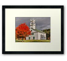 New Hampshire Framed Print