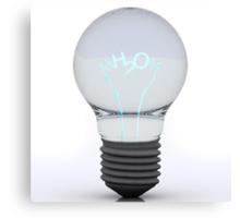 H2O Bulb Canvas Print