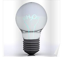 H2O Bulb Poster