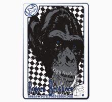 monkey joker card by rogers btos Kids Tee