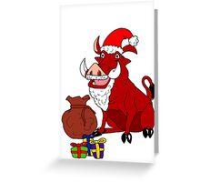 Pumba Christmas 2011 Greeting Card