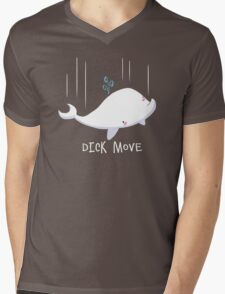 Dick Move Mens V-Neck T-Shirt