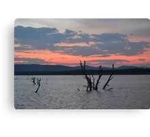 Sunset - 3 Canvas Print