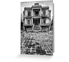 The Salem Mansion Greeting Card
