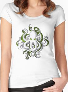 Mutant Zombie Dectopus Women's Fitted Scoop T-Shirt