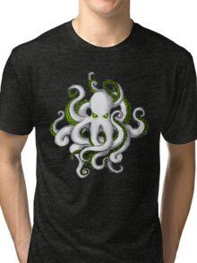 Mutant Zombie Dectopus Tri-blend T-Shirt