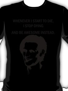 11th Doctor feels awesome. T-Shirt