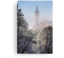 Kelvingrove Winter (3) Canvas Print